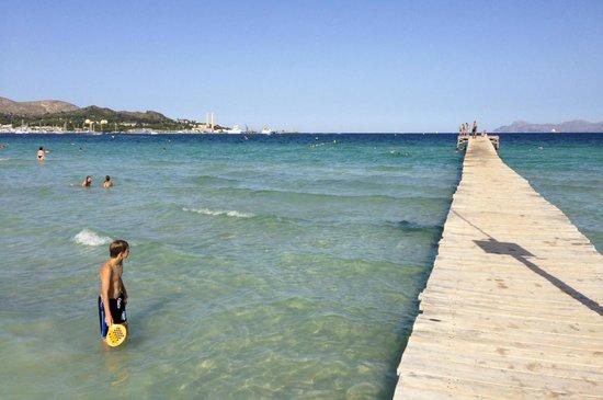 แอลคูเดีย, สเปน: Playa de Aucanada