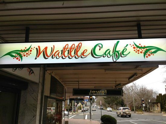 Wattle Cafe: Outside View