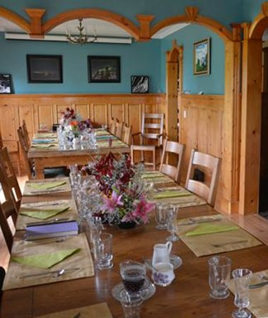 Heartwood Inn and Spa: Dinning Room