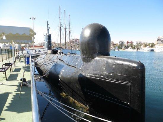 Museos flotantes Delfin S-61 y Albatros III