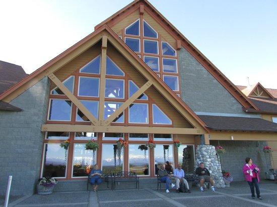 Talkeetna Alaskan Lodge : Main Lodge