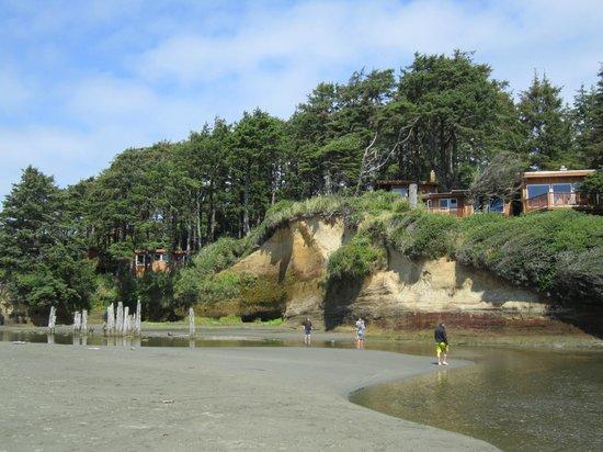 Iron Springs Resort: sur la plage