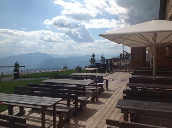 Alpinhotel Pacheiner: terrace