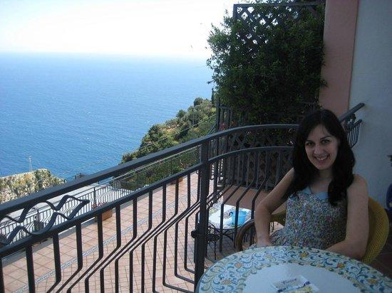 Holidays Fico d'India: Room balcony
