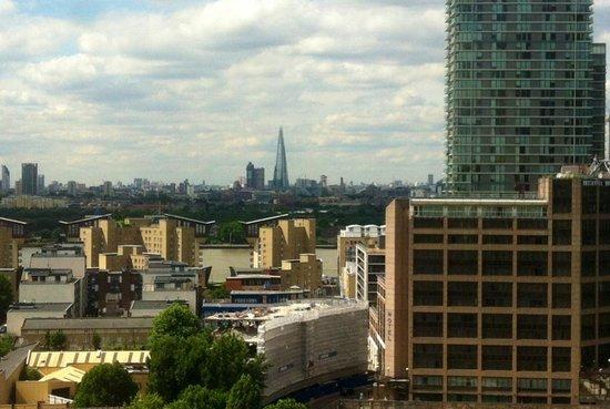 Hilton London Canary Wharf: The view