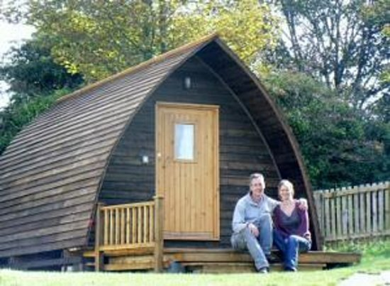Tehidy Holiday Park: Wigwams