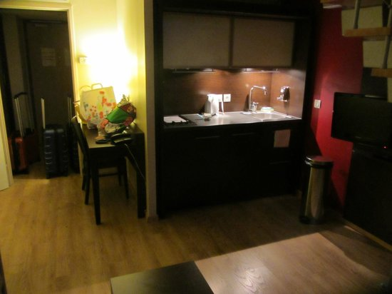 Residhome Appart Hotel Caserne de Bonne : Cucina