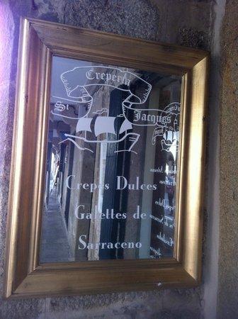 Creperia St Jacques: cartel anuncio