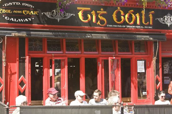 Tig Coili - PUB : A Sunday afternoon at Tig Coili's