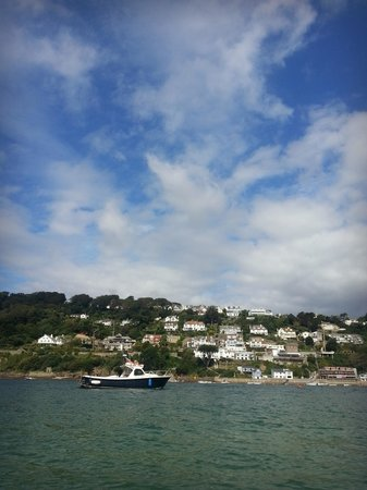 South Sands Hotel: View from boat trip