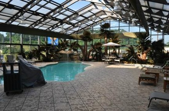Indoor Pool And Spa Picture Of Wyndham Garden Cross Lanes Charleston Cross Lanes Tripadvisor