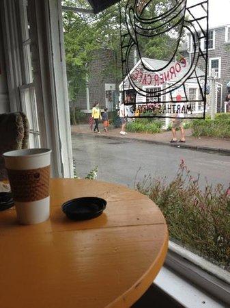 MacPhail's Corner Cafe: window seat