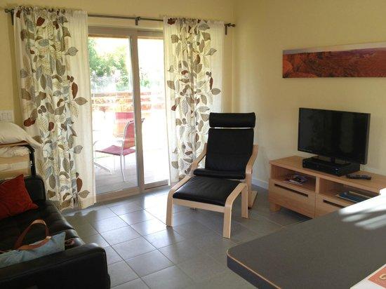Westside Flats: Living Room