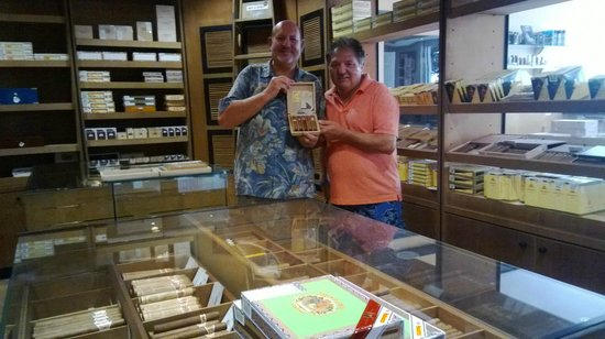 Cigar Emporium : One of our dearest client Sam and friend