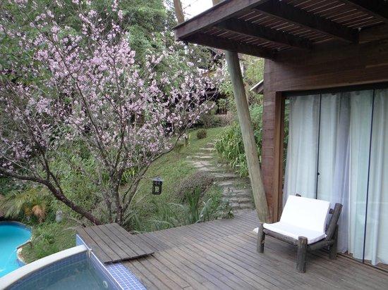 Hotel Warabi: Varanda