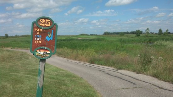 Hankinson, ND: Not often you see a #25 on a golf course