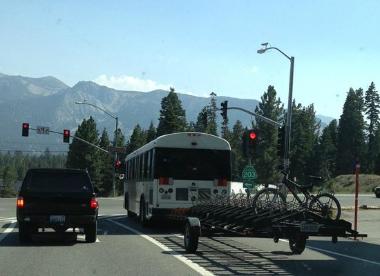 Mammoth Mountain Bike Park: Bike Shuttle