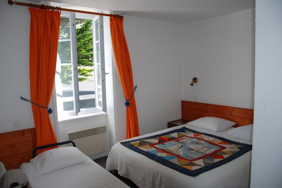 Hotel de la Marine: Chambre n°15 avec un lit d'appoint
