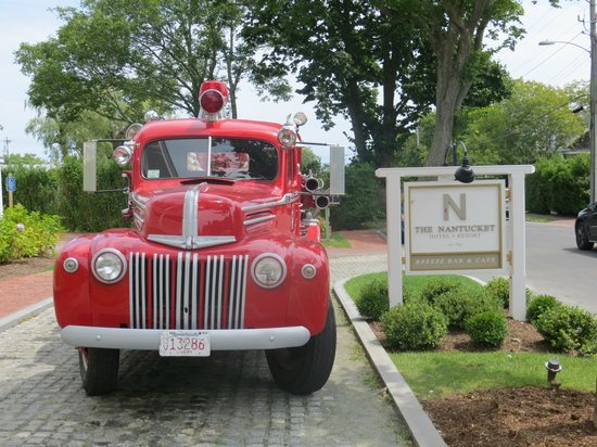 The Nantucket Hotel & Resort: Fire your engine