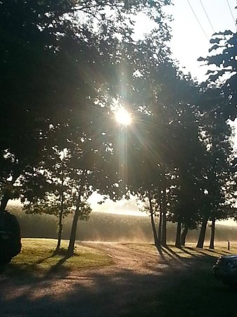 Wisconsin Riverside Resort, Inc.: Early morning at WI Riverside