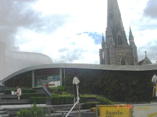 St. Martin in the Bull Ring: tried to capture both - the church and the building