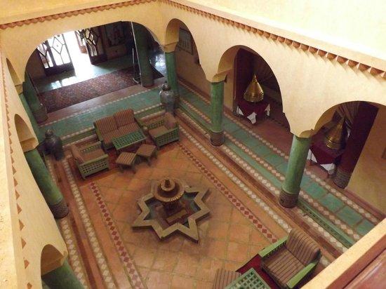 Hotel Kasbah Lamrani: Hall