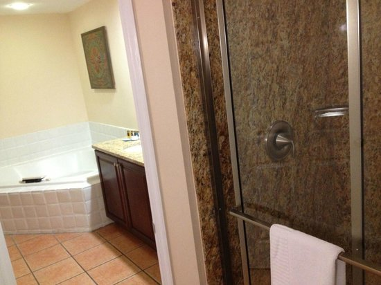 Grande Villas Resort: Master bathroom, separate room with shower and toilet