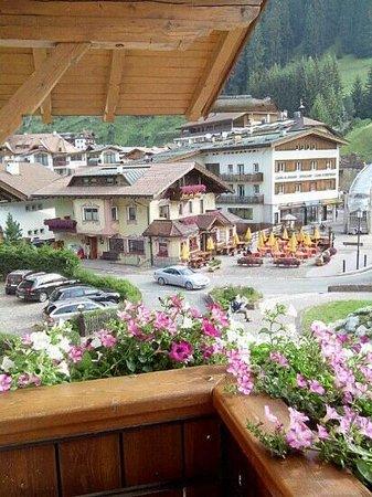 Garni Maria: vista balcone