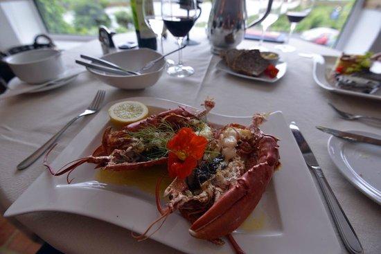 Ardagh Hotel & Restaurant: Fresh lobster dinner