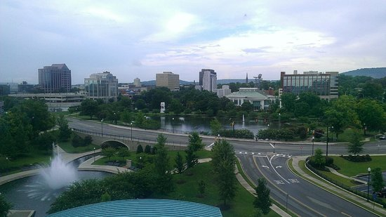 Embassy Suites Huntsville by Hilton Hotel & Spa : View from Room 635