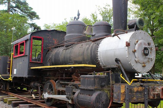 Allaire State Park: Trains!