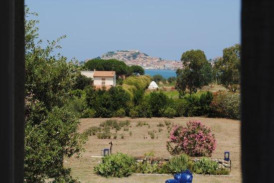Le Stanze del Casale B&B : vue de la chambre sur Portoferraio