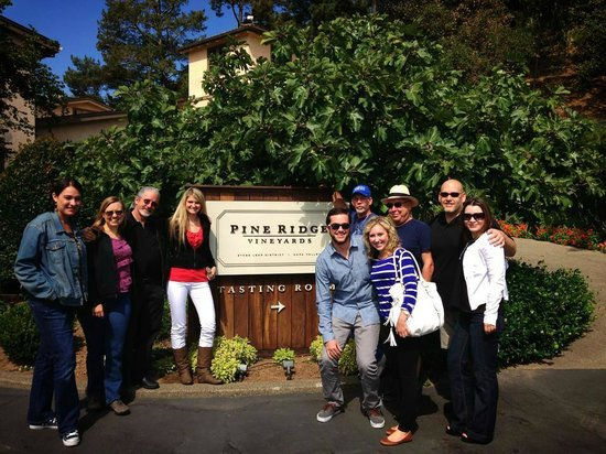 Pine Ridge Winery : The Loft Wine Bar touring Pine Ridge
