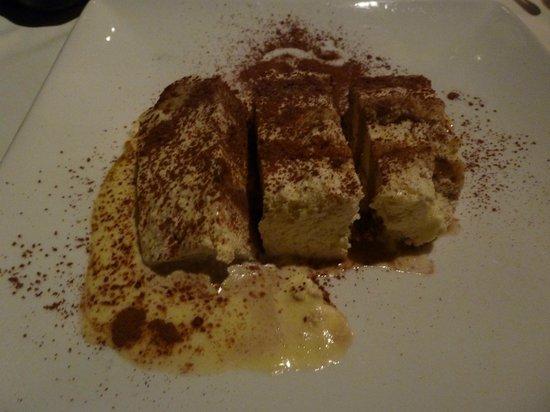 Toscanini Restaurant : Tiramisu - yum!