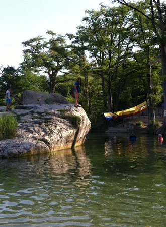 swimming hole on the Frio River - Picture of Neal's Lodges