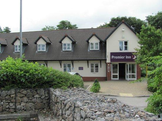 Premier Inn Preston North Hotel: Front of the hotel