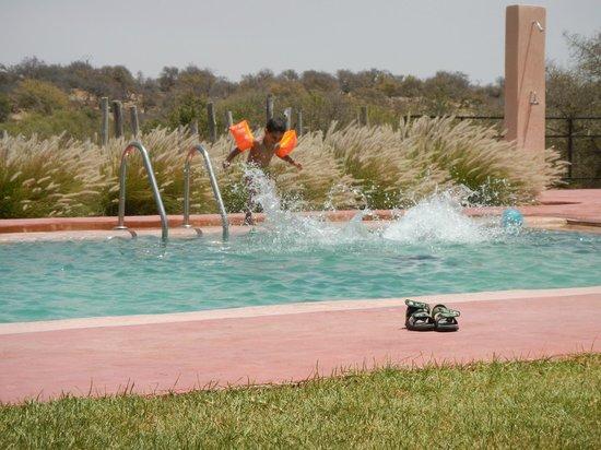 Dar Essaada: piscine