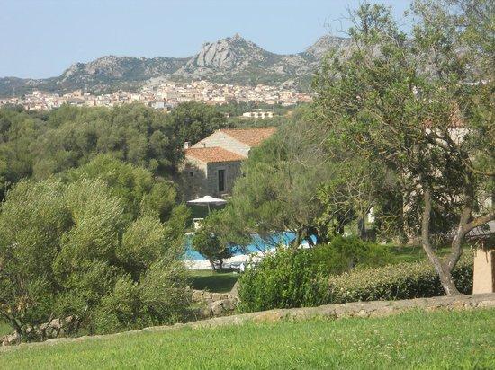 Hotel Stazzo Lu Ciaccaru : vue de la terrasse