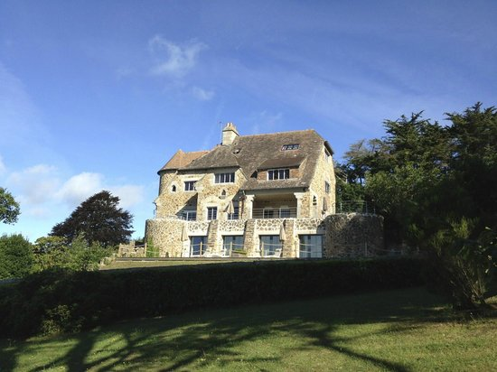 Manoir Dalmore : view from beach