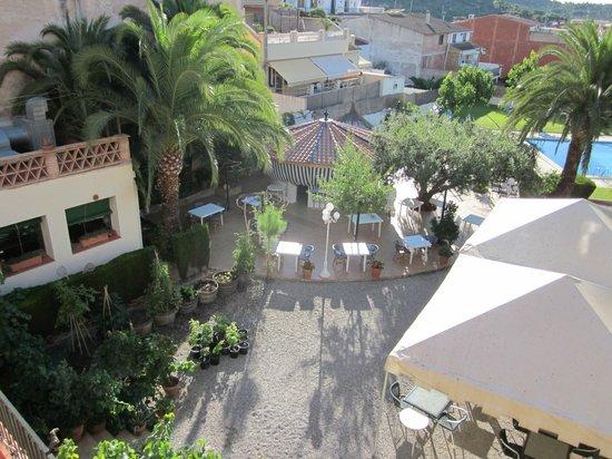 Hotel Antiga: Zona de refrescos y cenas