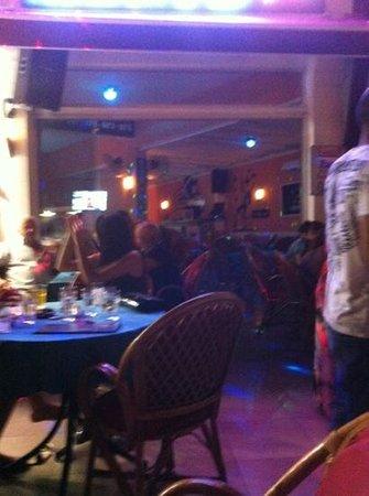 Babylon's restaurant: the bar