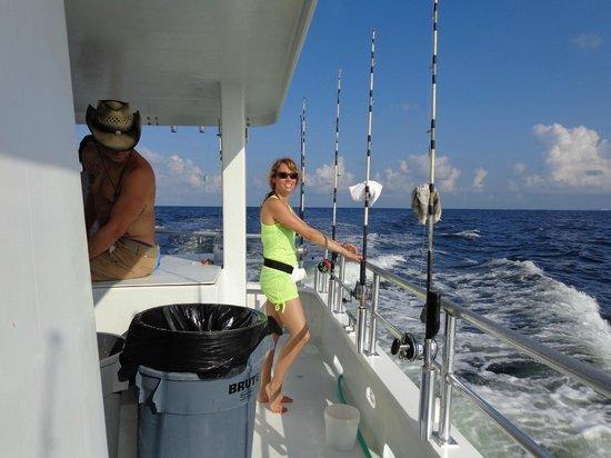 A catch picture of sweet jody fishing destin tripadvisor for Sweet jody fishing