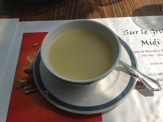 Hotel Cap-aux-Pierres : Potato soup