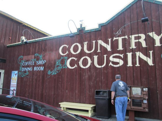 Country Cousin: Outside the restaurant