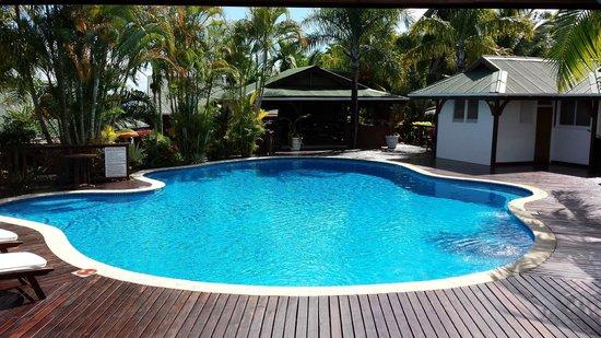 Le Jardin des Palmes: La piscina: relax assicurato