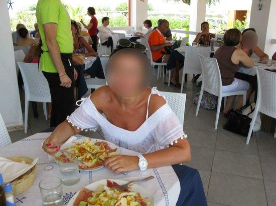 Lido delle Sirene: a pranzo al ristorante