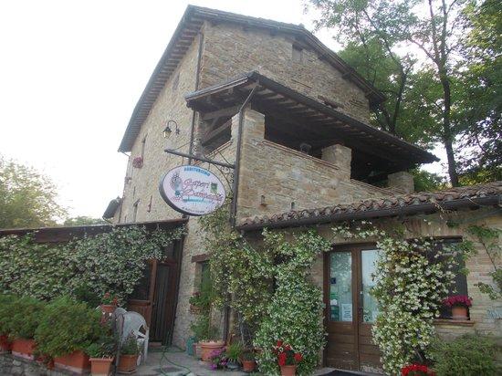 Pievebovigliana, Italia: semplice e genuino