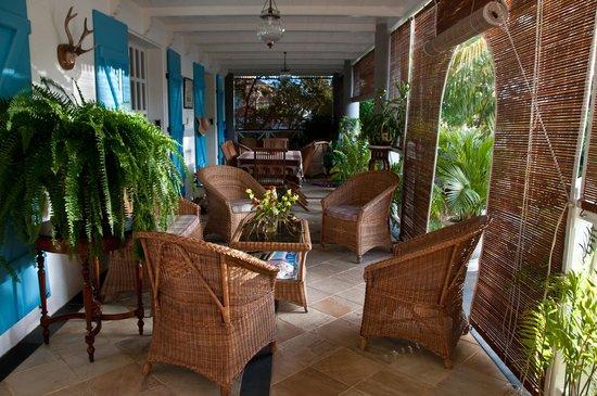 Maison Papaye: La varangue