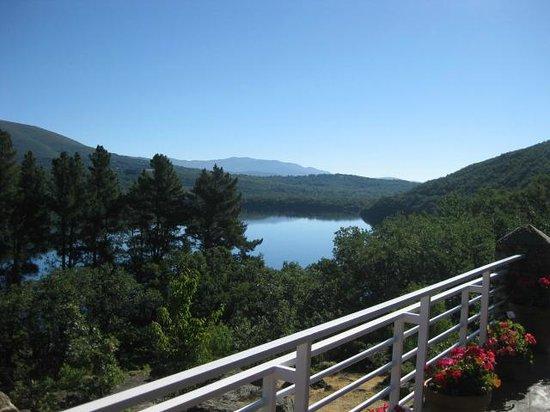 Parque Natural Lago de Sanabria: el lago desde el camping Los Robles