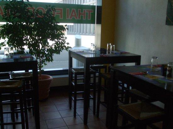 Thai Food Station: Inside seating